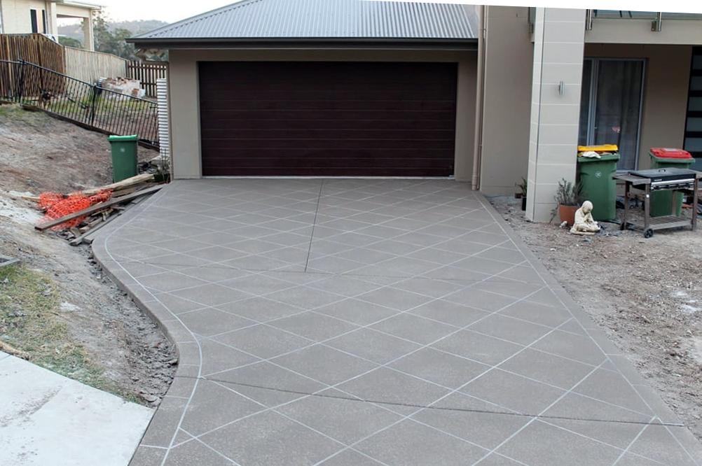 concrete driveyways