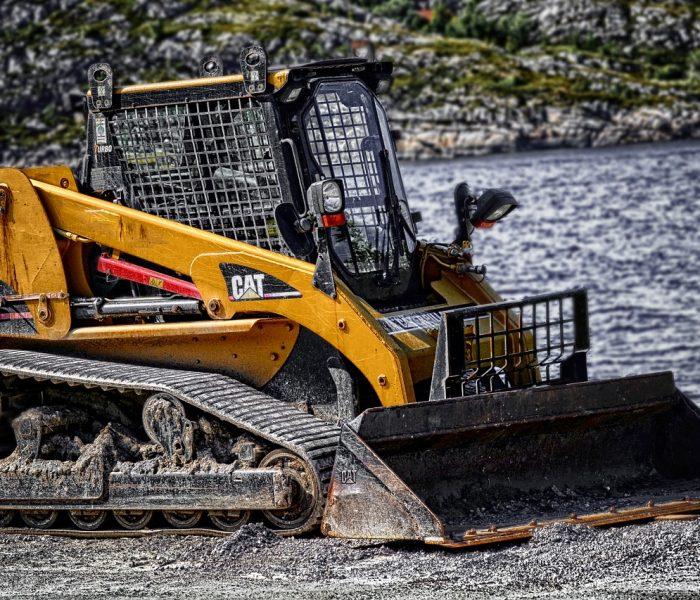 digger, machine, machinery